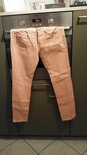 amisu straight gr. 40 jeans aprikot röhre