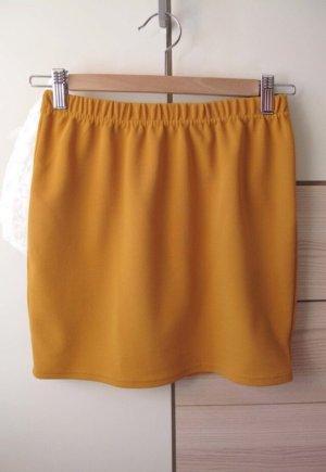 Amisu Minigonna giallo-oro-arancione chiaro