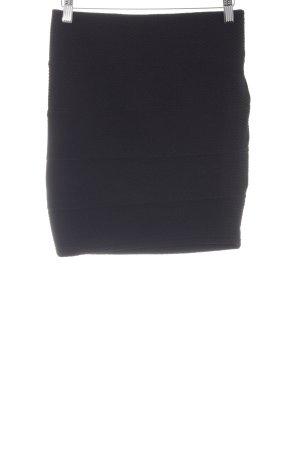 Amisu Stretch rok zwart elegant
