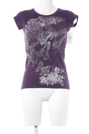 Amisu T-Shirt Animalmuster Casual-Look