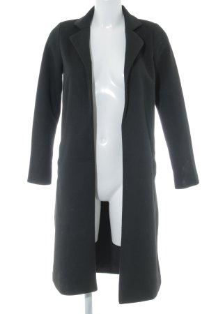 Amisu Übergangsmantel schwarz klassischer Stil