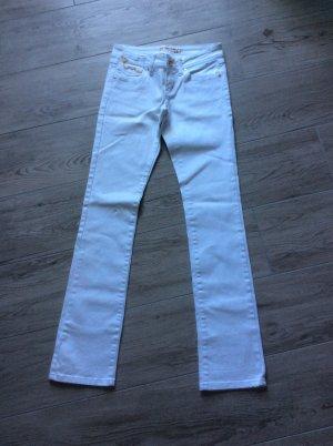 Amisu Jeans cigarette blanc