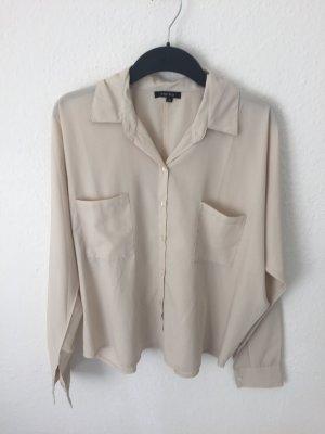 Amisu weites Hemd Beige