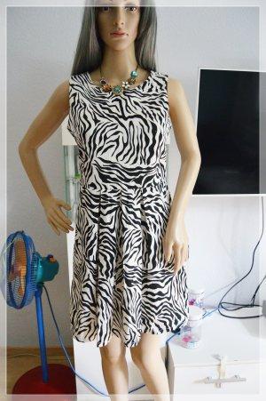 Amisu Zebra Kleid gr.38