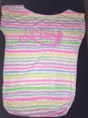 Amnesia Romantic Top linea A multicolore