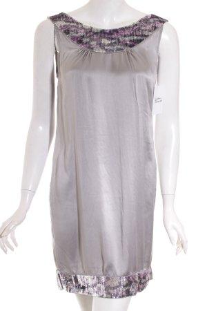 Amor & Psyche Abendkleid grau Casual-Look