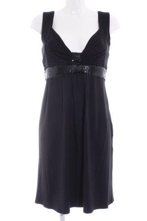 Amor & Psyche Vestido babydoll negro elegante