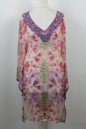 Amor & Psyche Tunic Blouse multicolored viscose