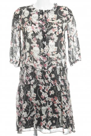 Amor & Psyche Blouse Dress flower pattern street-fashion look