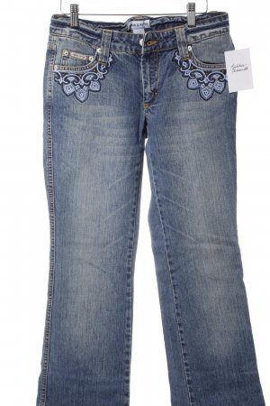 Amor & Psyche Boot Cut Jeans blau Casual-Look
