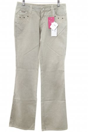 Amor & Psyche Boot Cut Jeans sand brown casual look