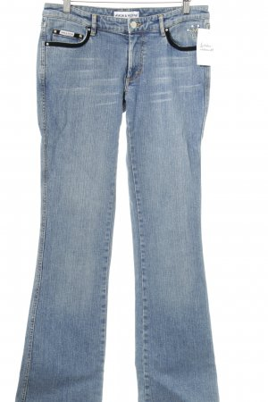 Amor & Psyche Boot Cut Jeans stahlblau Casual-Look