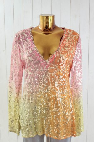 Amor & Psyche Tunic Blouse multicolored silk