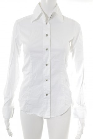 Amor & Psyche Long Sleeve Shirt white elegant