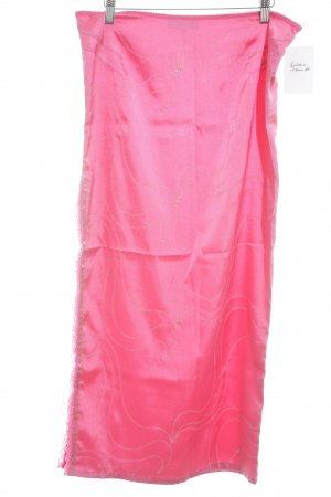 Amor & Psyche Maxi Skirt magenta extravagant style