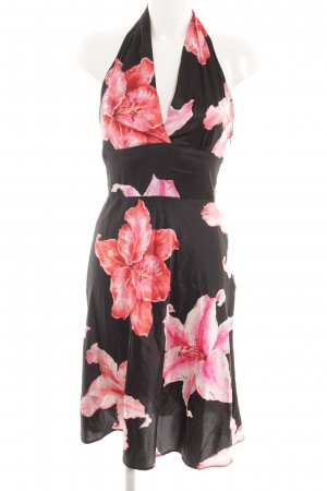 Amor & Psyche Halter Dress flower pattern casual look