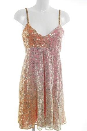Amor & Psyche Robe à paillettes multicolore pailleté