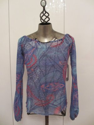 AMOR & PSYCHE Paisley-Bluse - Gr. L