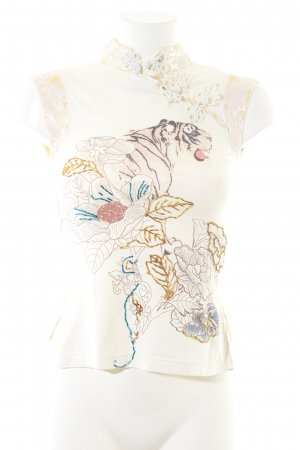 Amor & Psyche Print Shirt multicolored business style