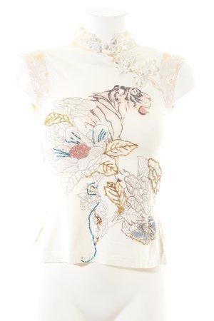 Amor & Psyche Print-Shirt mehrfarbig Business-Look