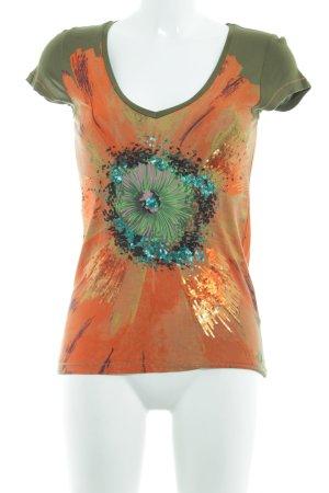 Amor & Psyche Camiseta estampado floral look casual