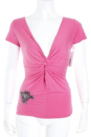 Amor & Psyche T-Shirt magenta Eleganz-Look