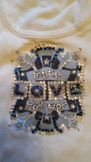 Amor &Psyche Top strass
