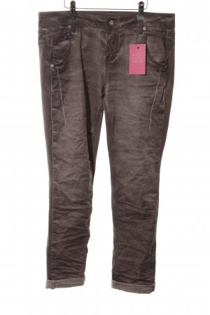 Amor, Trust & Truth Jeans a 7/8 marrone stile casual