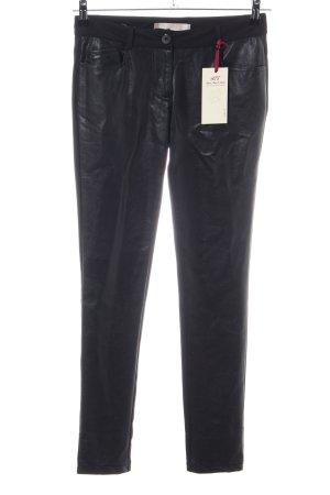 Amor, Trust & Truth Pantalón de cinco bolsillos negro estilo extravagante