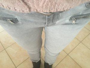 Amor, Trust & Truth Jeans gris-gris clair