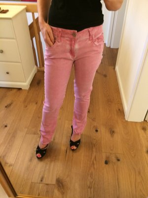 Amor, Trust & Truth Jeans coupe-droite rose