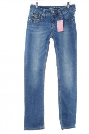 Amor, Trust & Truth Jeans slim fit blu look pulito