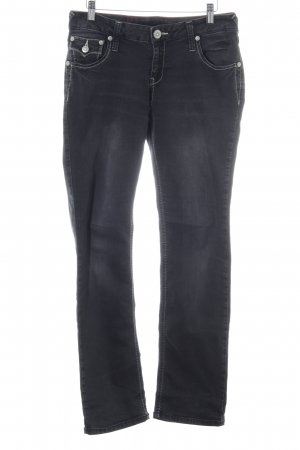 Amor, Trust & Truth Straight Leg Jeans blue street-fashion look