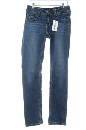 Amor, Trust & Truth Straight Leg Jeans blue washed look
