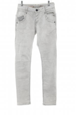 Amor, Trust & Truth Stretch Jeans hellgrau Casual-Look