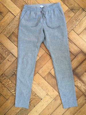 Woolen Trousers light grey wool