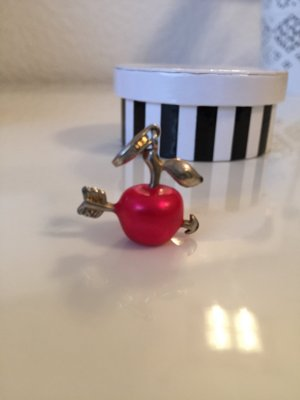 Amors roter Apfel Charm