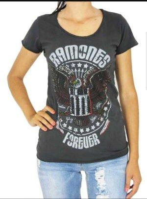 AMPLIFIED RAMONES FOREVER T-Shirt  Damen Band Shirt
