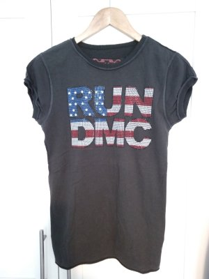 Amplified T- Shirt Top Run Dmc Pailletten M w. NEU