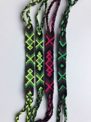Friendship Bracelet multicolored new wool