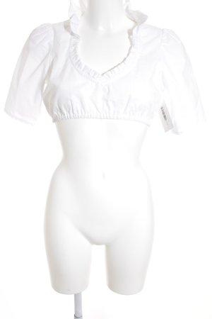 Amsel Folkloristische blouse wit Boho uitstraling