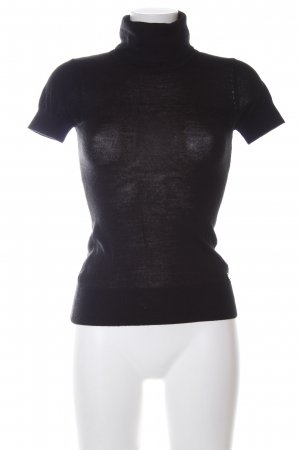 Amy Gee Turtleneck Shirt black casual look
