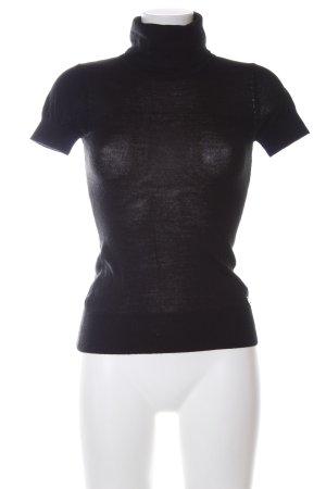 Amy Gee Maglia a collo alto nero stile casual