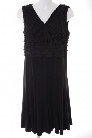 Amy Vermont Vestido de noche negro elegante