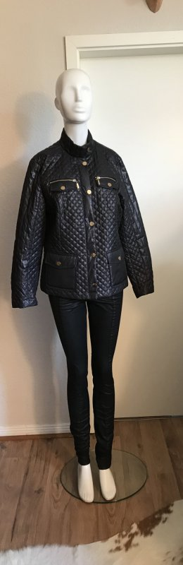 Amy Vermont Biker Jacket dark blue