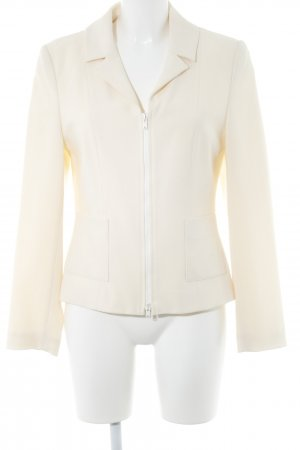 Amy Vermont Jersey Blazer cream casual look