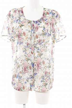 Amy Vermont Short Sleeved Blouse allover print casual look