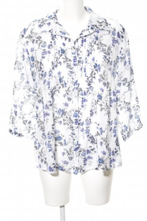 Amy Vermont Long Sleeve Blouse allover print casual look