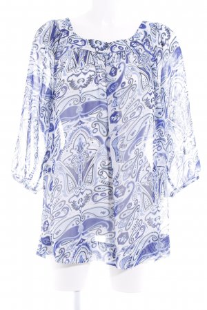 Amy Vermont Oversized Bluse Paisleymuster Beach-Look