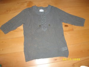 Amy Vermont Knitted Jumper grey cotton